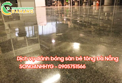 Dịch vụ đánh bóng sàn bê tông tại Đà Nẵng