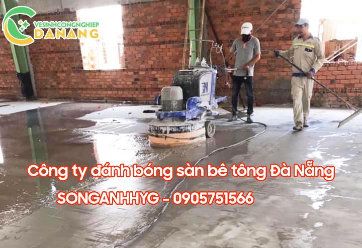 Đánh bóng sàn bê tông tại Đà Nẵng