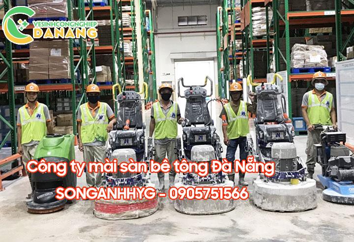 Công ty mài sàn bê tông tại Đà Nẵng