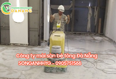 Thi công sàn bê tông mài tại Đà Nẵng