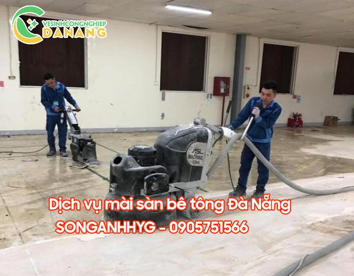 Dịch vụ mài sàn bê tông tại Đà Nẵng
