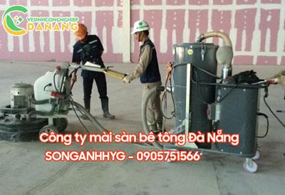 Dịch vụ mài nền xi măng tại Đà Nẵng