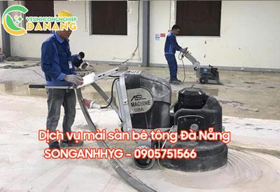 Mài sàn bê tông tại Đà Nẵng