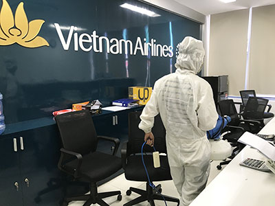 Dịch vụ phun diệt khuẩn tại Đà Năng