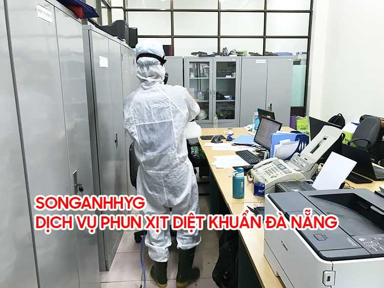 Dịch vụ phun xịt diệt khuẩn tại Đà Nẵng
