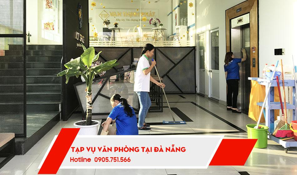 Dịch vụ tạp vụ văn phòng theo giờ tại Đà Nẵng
