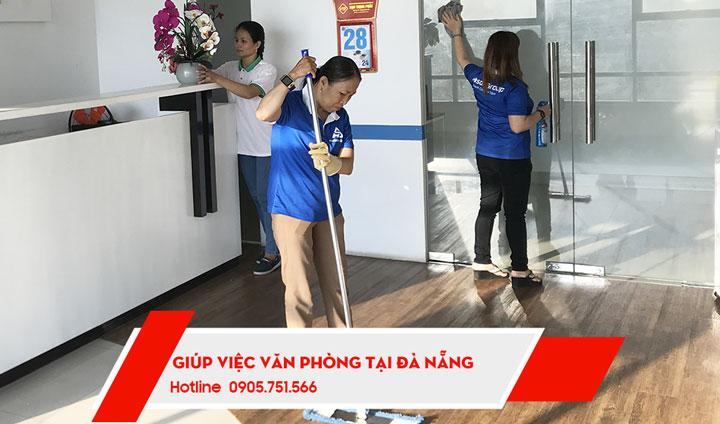 Dịch vụ giúp việc vệ sinh văn phòng theo giờ tại Đà Nẵng