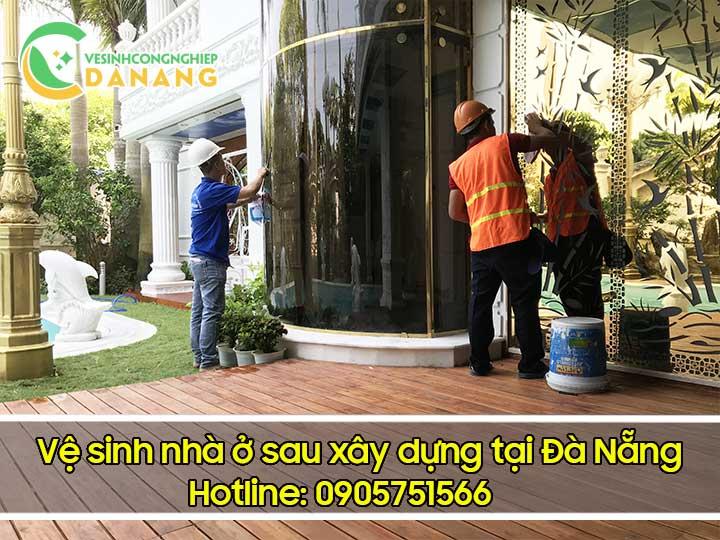Vệ sinh nhà ở sau xây dựng tại Đà Nẵng