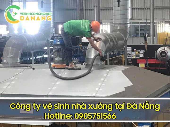 Vệ sinh nhà xưởng tại Đà Nẵng