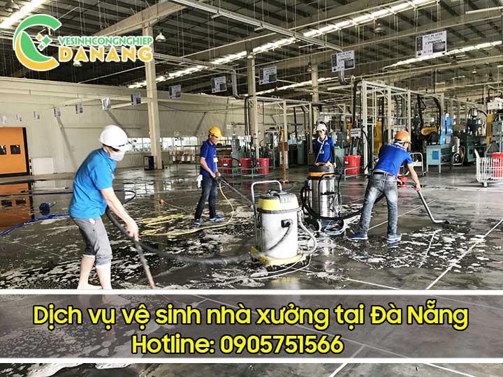 Dịch vụ vệ sinh nhà xưởng tại Đà Nẵng