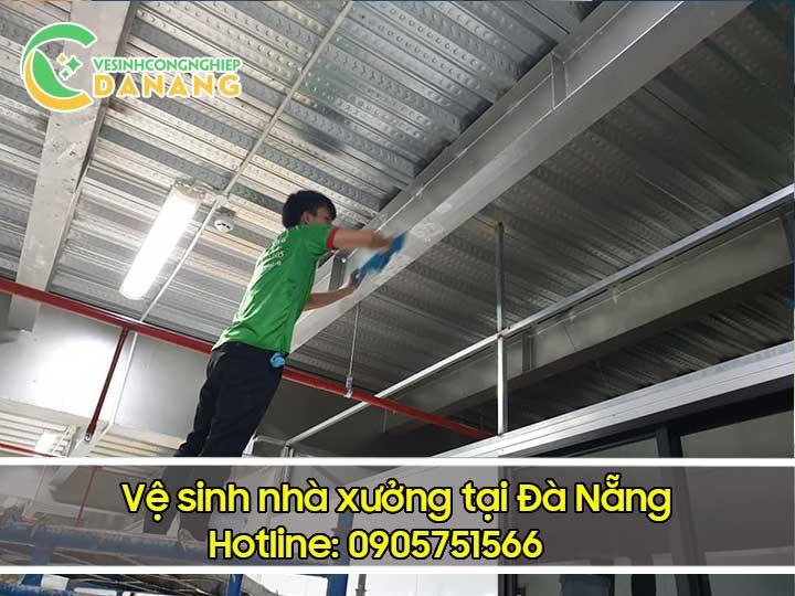 Dịch vụ vệ sinh nhà xưởng Đà Nẵng