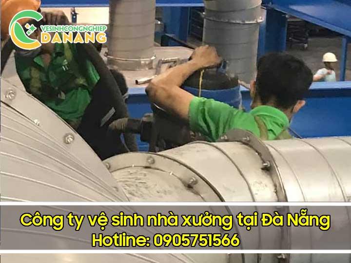 Vệ sinh công nghiệp tại Đà Nẵng