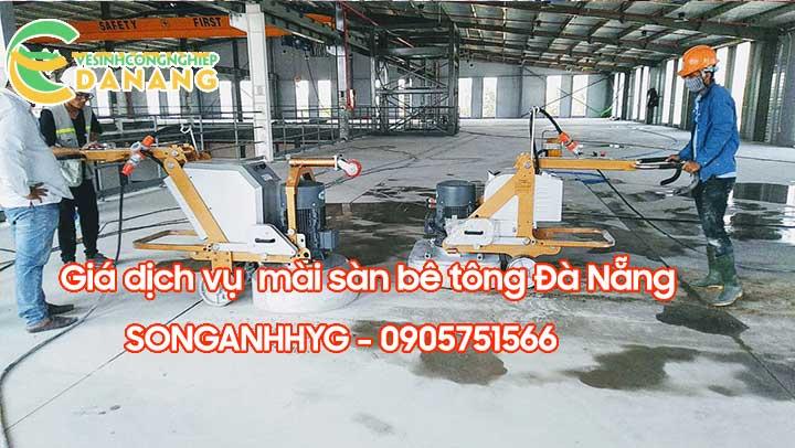 Giá dịch vụ mài sàn bê tông tại Đà Nẵng