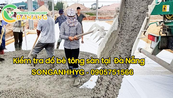 Đổ bê tông sàn tại Đà Nẵng