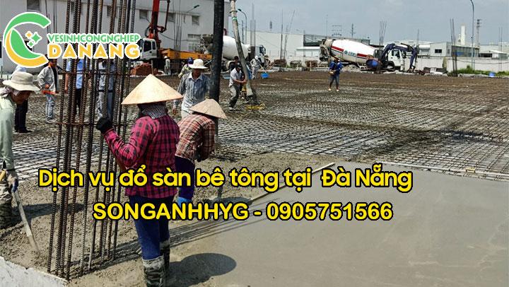 Dịch vụ đổ sàn bê tông tại Đà Nẵng
