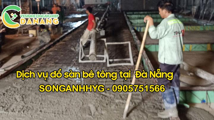 Dịch vụ đổ bê tông sàn tại Đà Nẵng