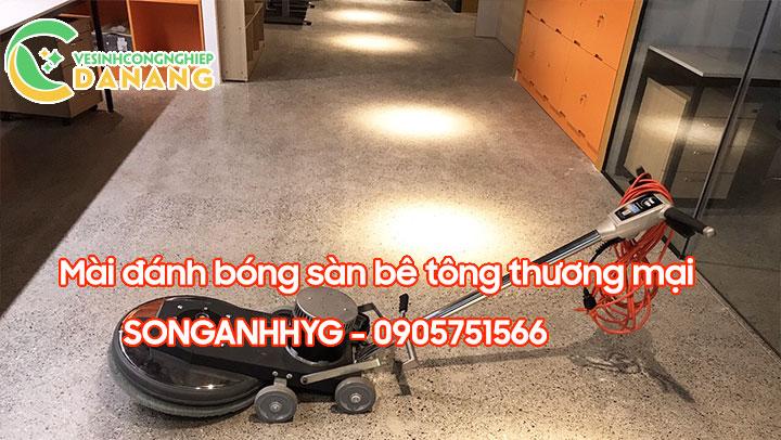 Dịch vụ mài sàn bê tông thương mại tại Đà Nẵng