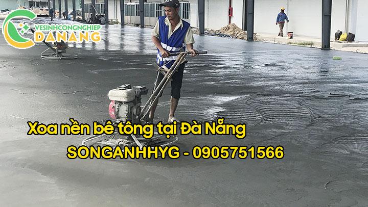 Dịch vụ xoa nền bê tông uy tín tại Đà Nẵng