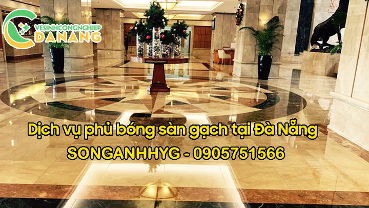 Phủ bóng sàn gạch tại Đà Nẵng
