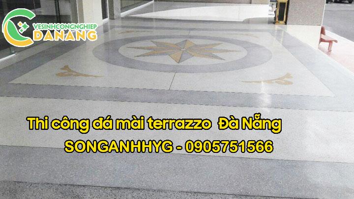 Dịch vụ thi công đá mài terrazzo tại Đà Nẵng