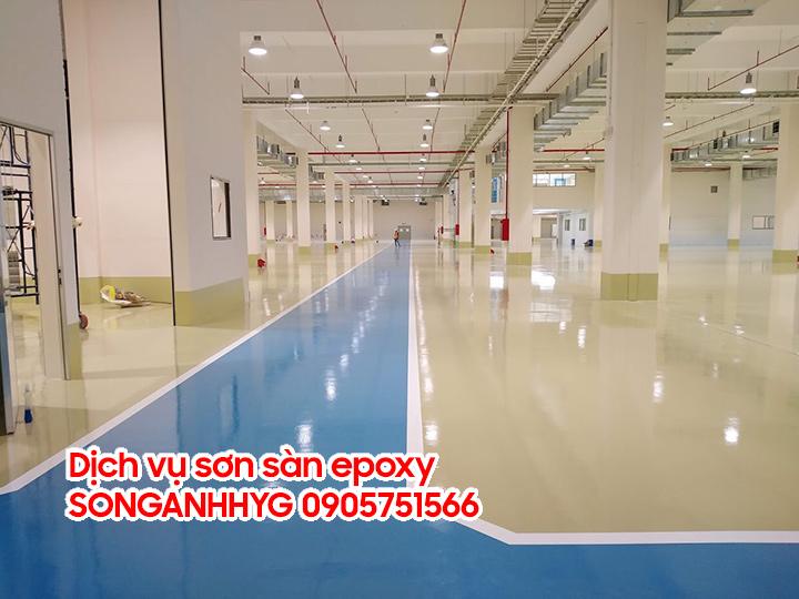Dịch vụ sơn sàn epoxy tại Đà Nẵng