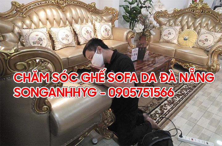 Chăm sóc bảo dưỡng ghế sofa da tại Đà Nẵng