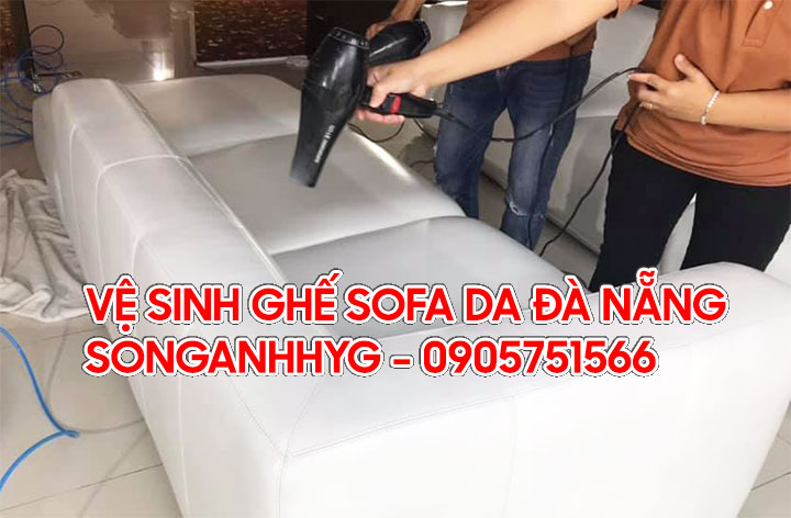 Vệ sinh ghế sofa da tại Đà Nẵng