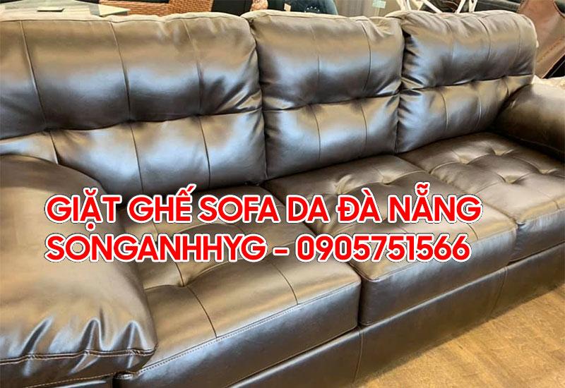Giặt ghế sofa da tại Đà Nẵng