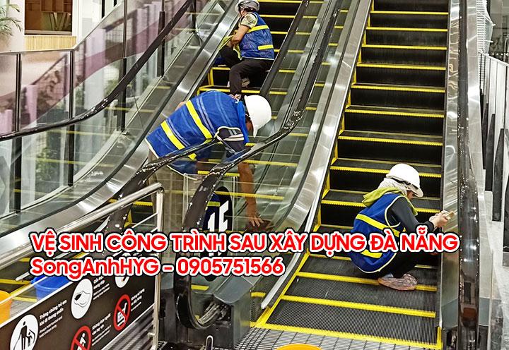 Dịch vụ vệ sinh công nghiệp sau xây dựng tại Đà Nẵng