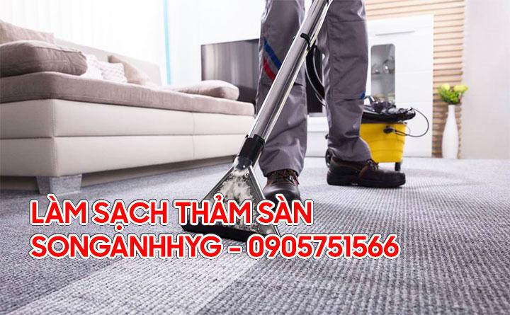 Làm sạch thảm sàn