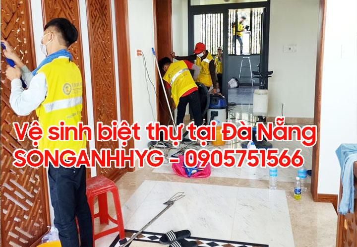 Dịch vụ vệ sinh villa tại Đà Nẵng