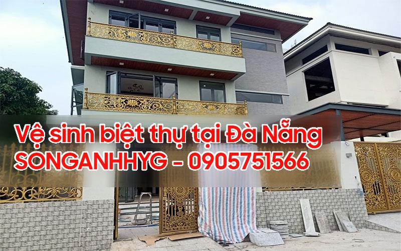 Vệ sinh biệt thự tại Đà Nẵng
