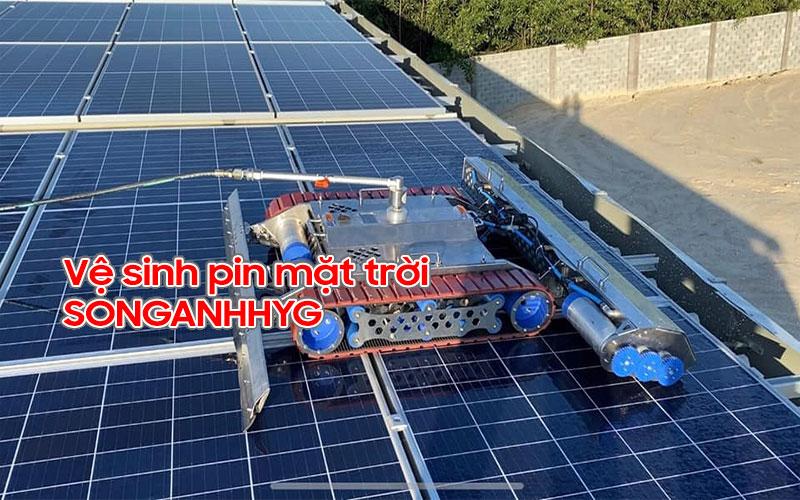 Dịch vụ vệ sinh pin năng lượng mặt trời Đà Nẵng