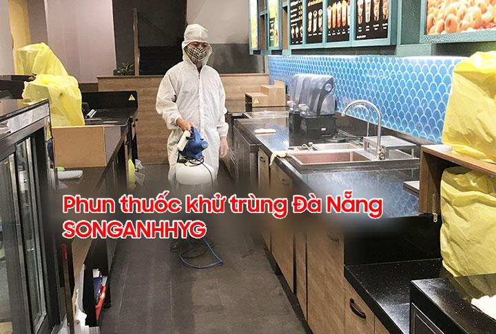 Dịch vụ phun thuốc khử trùng Đà Nẵng bằng máy phun ULV