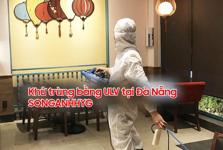 Phun khử trùng bằng máy ULV nano tại Đà Nẵng