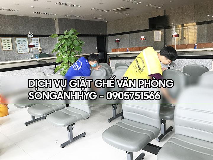 Dịch vụ giặt ghế văn phòng tại Đà Nẵng