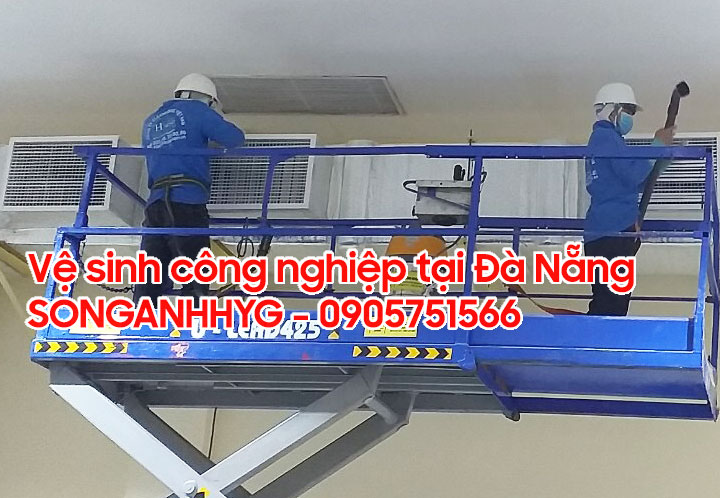 Công ty vệ sinh công nghiệp tại Đà Nẵng