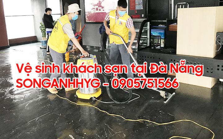 Vệ sinh đánh sàn khách sạn tại Đà Nẵng