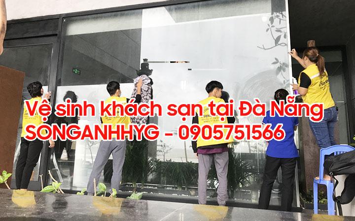 Dịch vụ vệ sinh khách sạn chuyên nghiệp tại Đà Nẵng