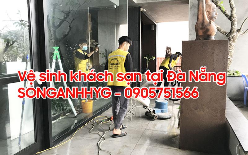 Dịch vụ vệ sinh khách sạn tại Đà Nẵng