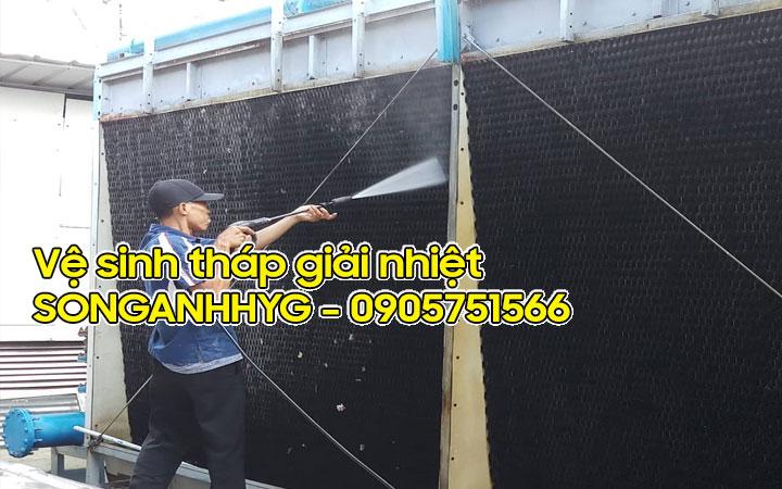 Dịch vụ vệ sinh tháp giải nhiệt tại Đà Nẵng
