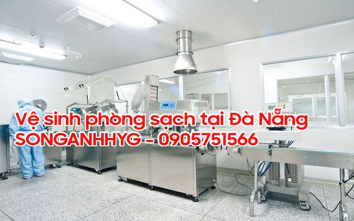 Vệ sinh phòng sạch Đà Nẵng